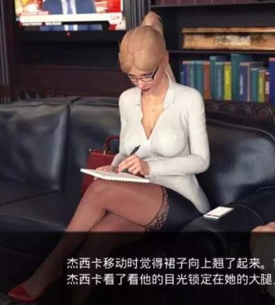 [欧美SLG/汉化/动态CG/PC/安卓]杰西卡的大新闻 V0.25 PC+安卓双版本汉化