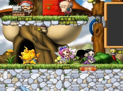 [Android] 冒险岛Online(MapleStory)手机版